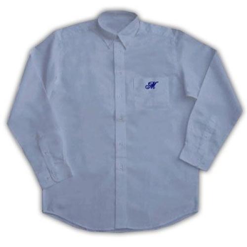 Chemise personnalisée bleue
