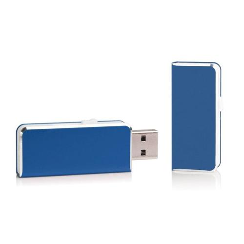 Clé USB de poche bleue