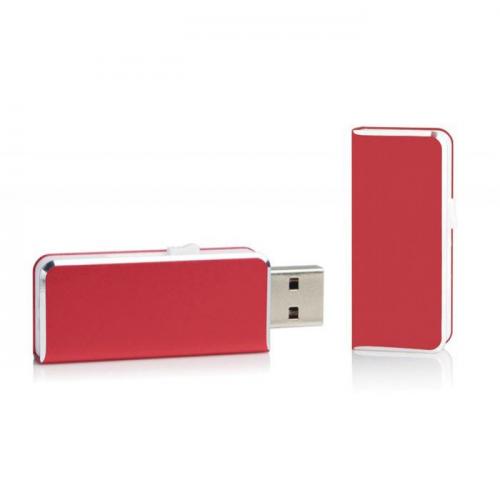 Clé USB de poche rouge