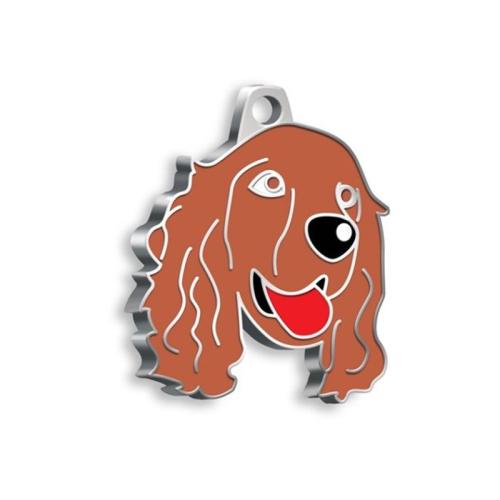 Médaille Cocker chien