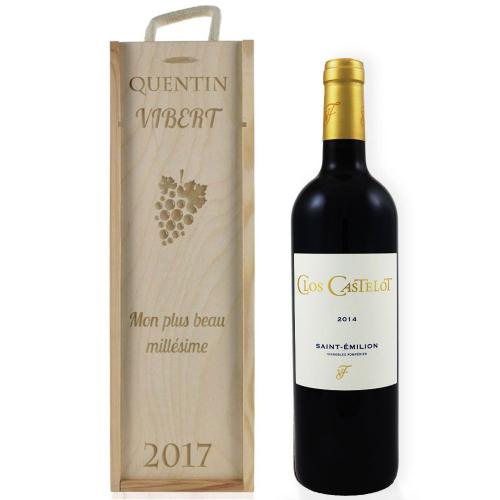 Coffret à vin personnalisé