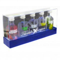 Coffret Absolut Vodka Collection
