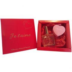 Coffret parfum et savon coeur personnalisé