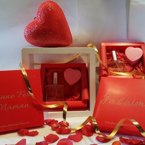 Coffret parfum Saint Valentin