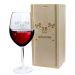 Verre à vin anniversaire personnalisé fiesta