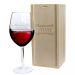 Verre à vin frise personnalisé