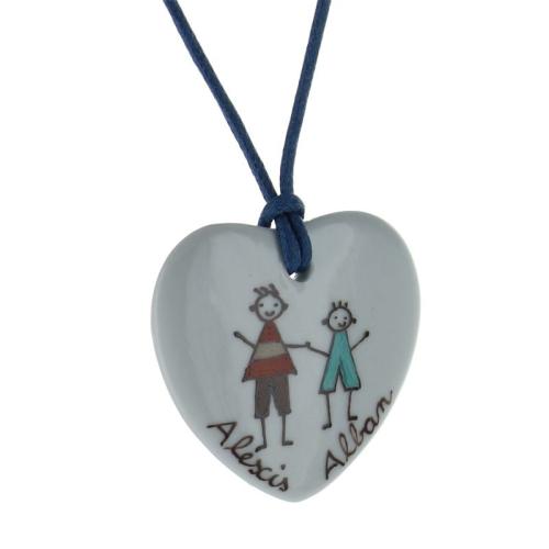 Un collier personnalisé pour maman