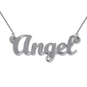 Collier Prénom type Angel