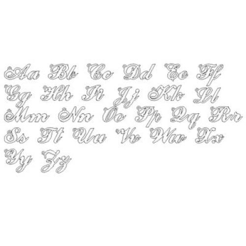 Style d'écriture pour bijou prénom