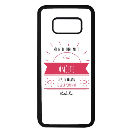 Coque Galaxy 8 message