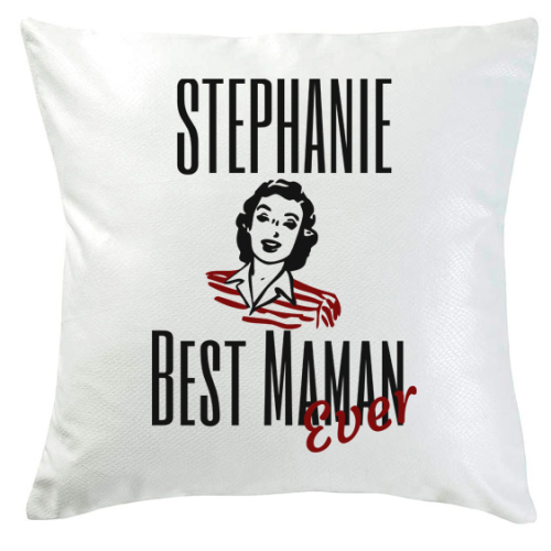 Coussin best maman ever