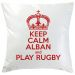 Coussin Keep Calm rouge