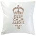 Coussin Keep Calm taupe