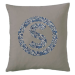 Coussin liberty cercle initiale