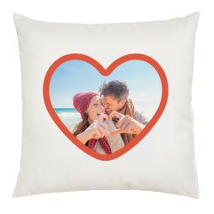 Coussin photo coeur