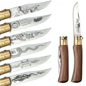 Couteau de poche Old Bear personnalisé Hells Angels