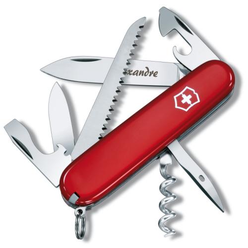 Couteau suisse personnalisé camper