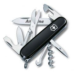 Couteau suisse noir personnalisé
