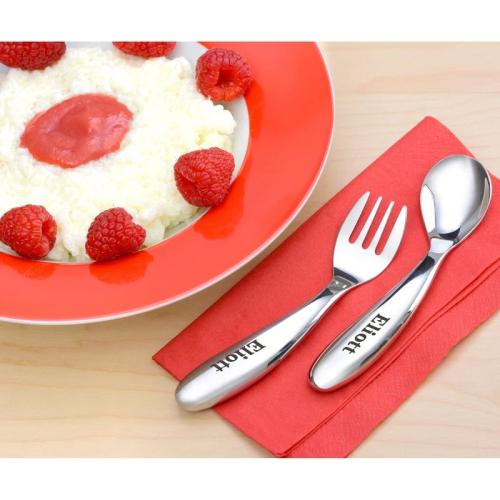 Fourchette et cuillère pour bébé personnalisées