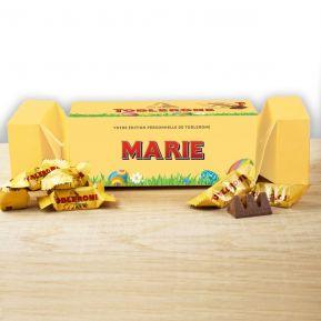 Cracker box de Mini Toblerone personnalisé Pâques