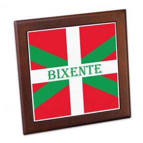 Dessous de plat Pays Basque personnalisé