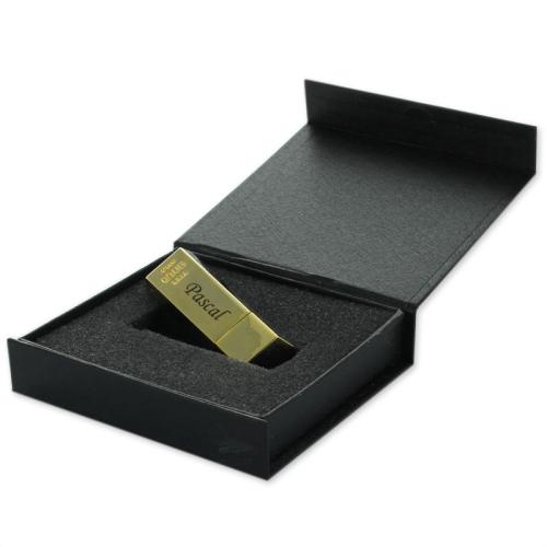 Boîte cadeau clé USB lingot