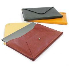 Enveloppe cuir pour Mac Book