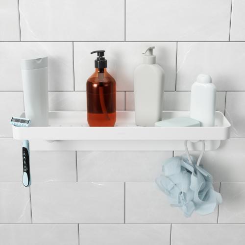 Étagèe dans une douche