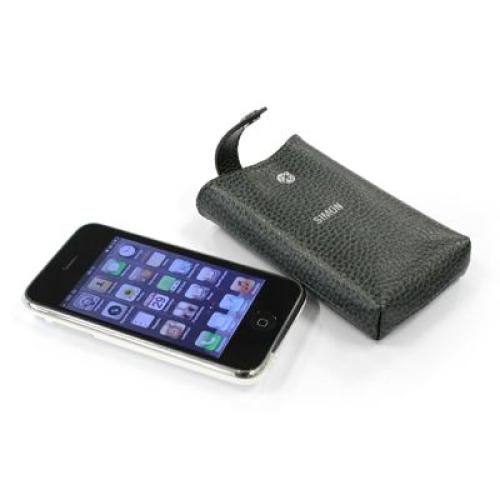 Etui iPhone cuir personnalisé