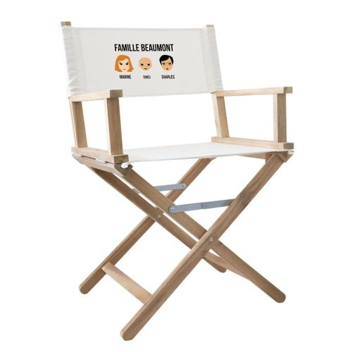 fauteuil de metteur en scène we are family