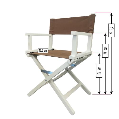 Dimensions du fauteuil de star enfant
