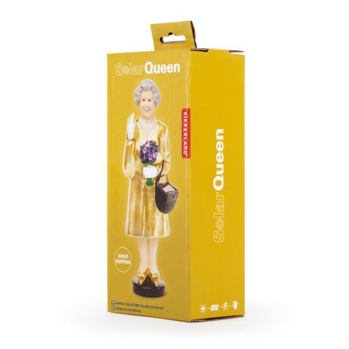 Reine d'Angleterre emballée