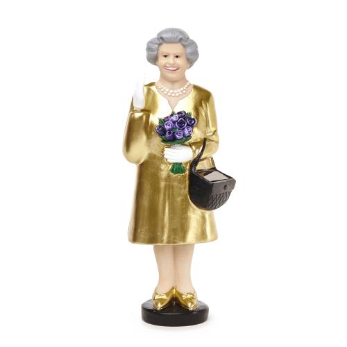 Figurine Reine d'Angleterre solaire