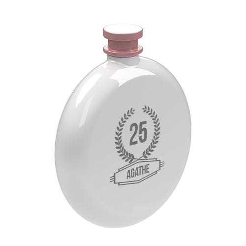 Flasque ronde personnalisée
