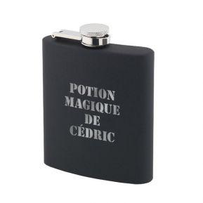 Flasque Silicone noir personnalisée