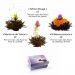 Fleurs de thé magique noir