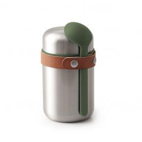 Pot isotherme Food Flask vert olive