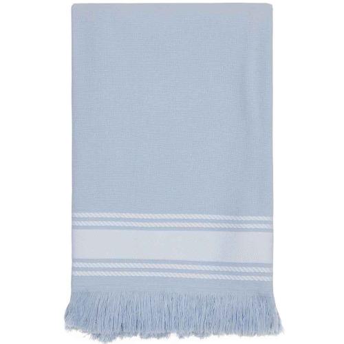 Fouta bleue Azur personnalisable