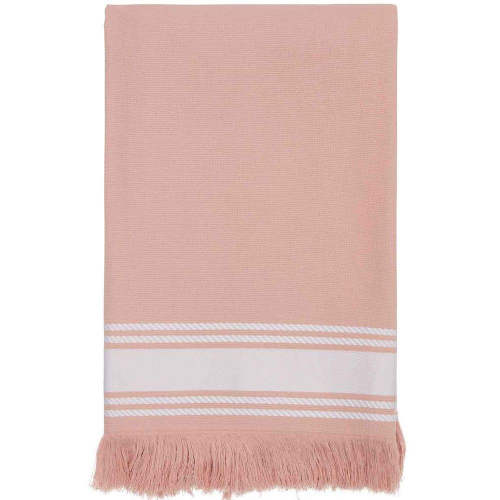 Fouta rose Misty personnalisable