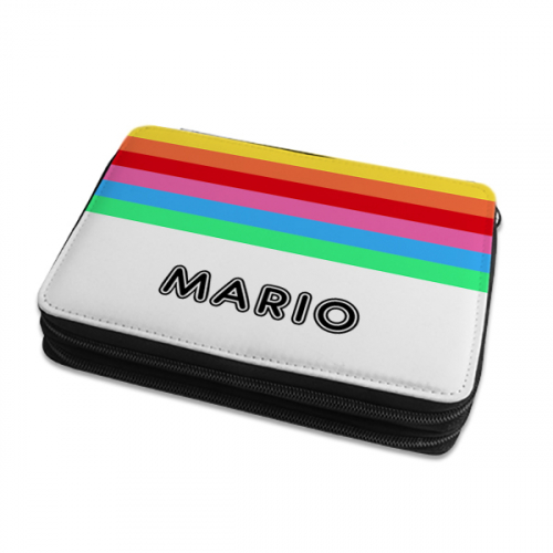 Trousse d'écolier personnalisée rainbow