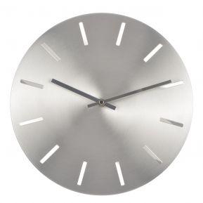 Horloge design ronde en alu