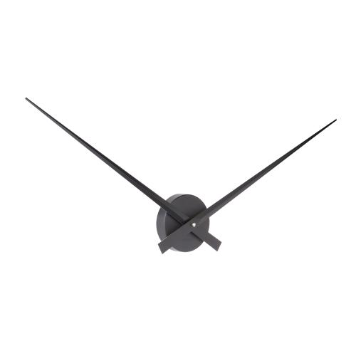 Horloge noire mat