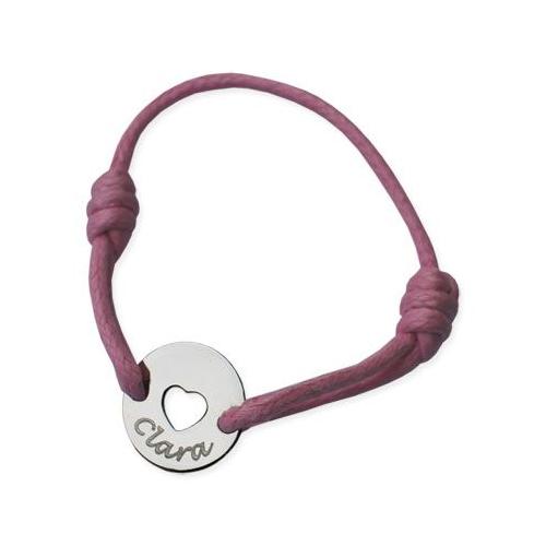 Bracelet enfant coeur ajouré
