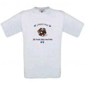 T-shirt enfant personnalisé J'peux pas