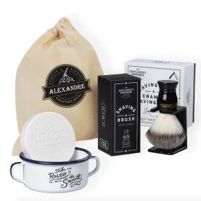 Kit de rasage barbe personnalisé Gentlemen's Hardware