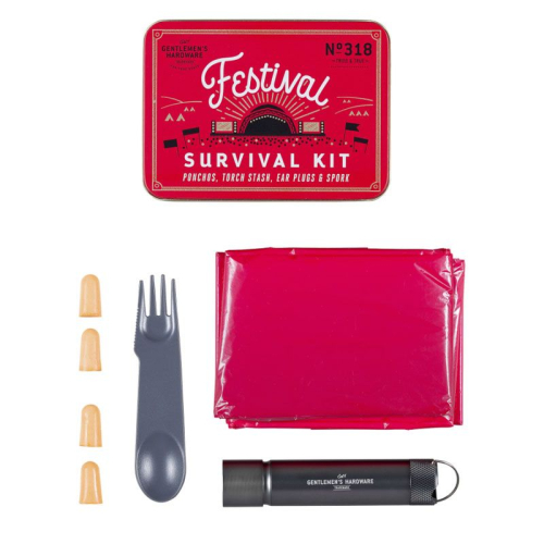 Kit de survie en festival Gentlemen's Hardware