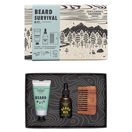 Kit de survie du barbu Gentlemen's Hardware