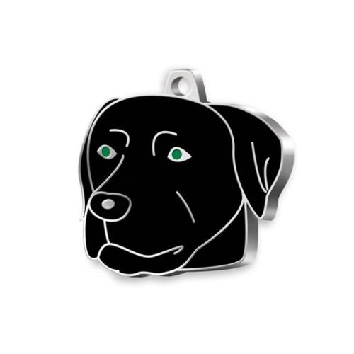 Médaille Labrador noir