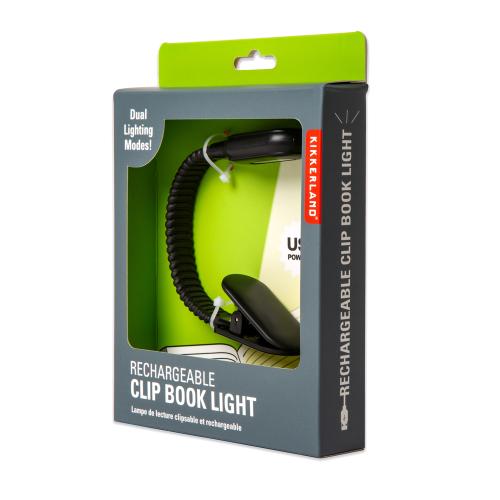 Lampe de lecture flexible Clip book emballée