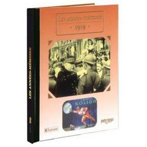 Livre mémoire de l'année 1919